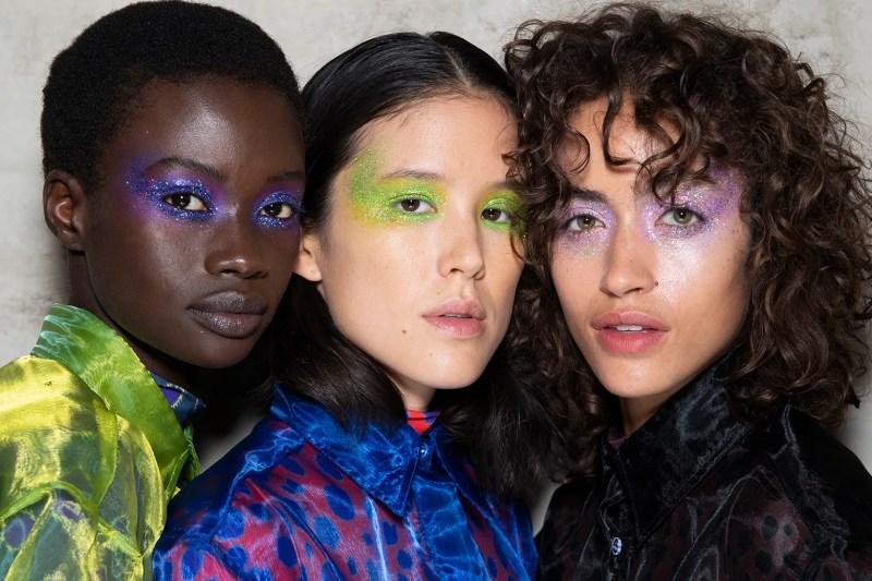 Бьюти-тренды с прошедших недель моды