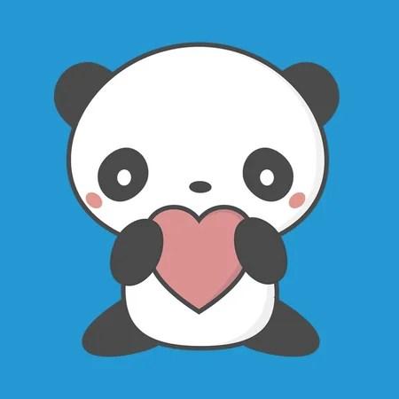 My Kawaii Panda Has A Heart NeatoShop