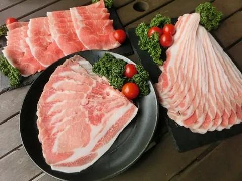 【肉の福袋】<脂が甘くてさっぱり!>豚肉詰め合わせ(1800g以上保証)