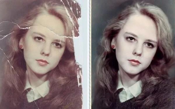 Реставрация и восстановление старых фотографий