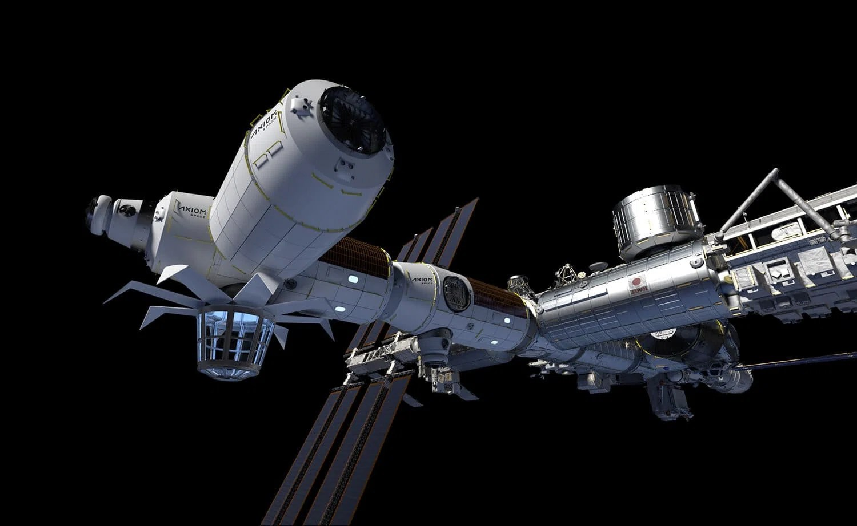 H / O: módulos Axiom Space conectados al ISS 210212 EC