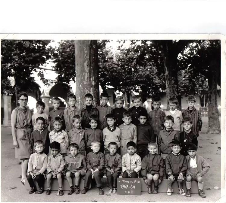 photo de classe cp 1967 1968 de 1967