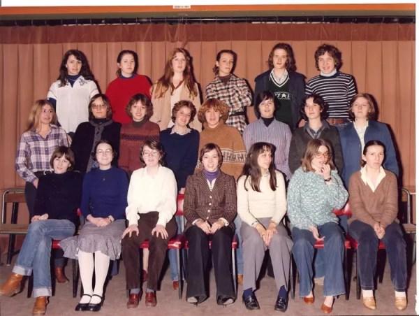 Photo de classe 1977-78 Terminale A5 L2 de 1977, Lycée ...