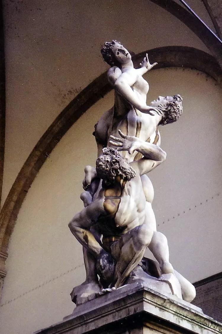 Enlvement Des Sabines Par Catherine TARGHETTA Sur L