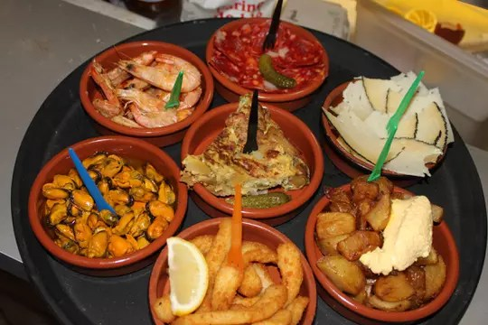 Restaurant - El Toro Loco restaurant Sanary Tapas Espagnols