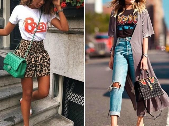 1001 cách mặc T-shirt cho các nàng chống nhàm chán