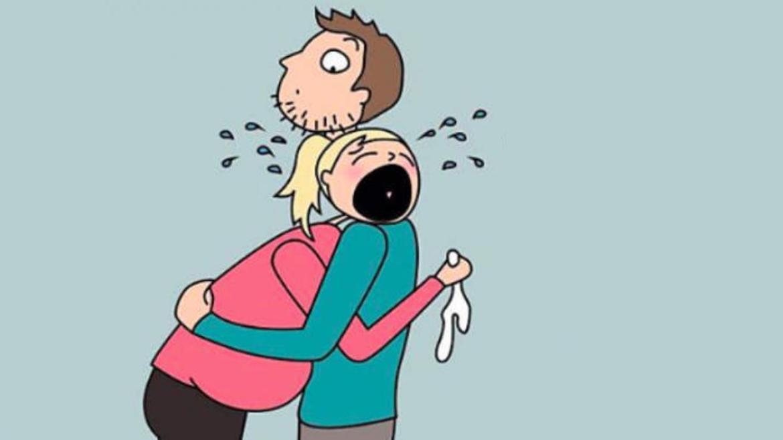 Kết quả hình ảnh cho mẹ bầu ko kiểm soát được cảm xúc
