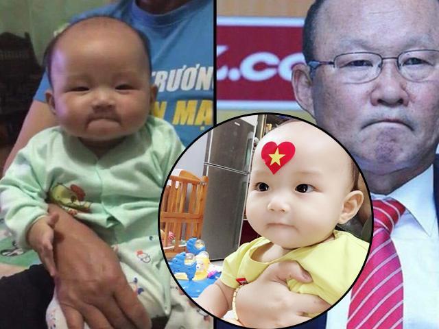 Tìm ra danh tính em bé Việt giống hệt HLV Park Hang Seo, nhìn ảnh bố đẻ mà bất ngờ!
