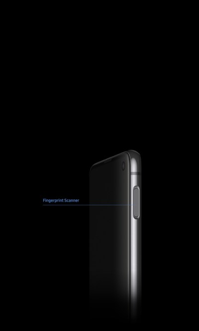 Fingerprint scanner unlocks your phone with a touch.