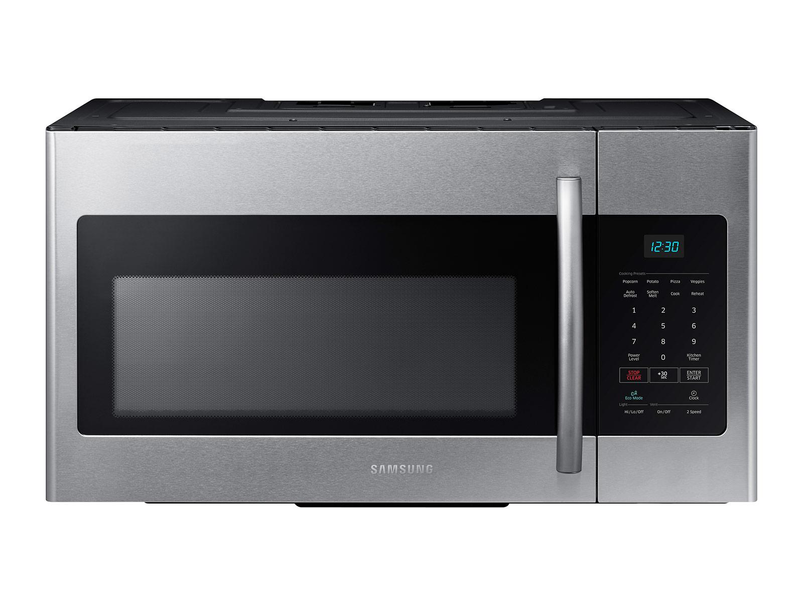 1 6 cu ft over the range microwave in fingerprint resistant stainless steel