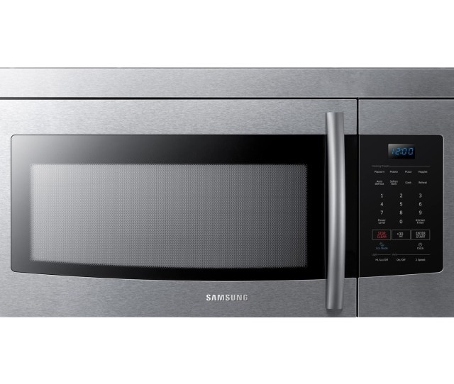 Over The Range Microwave Stainless Steel Microwaves Me16k3000as Aa Samsung Us