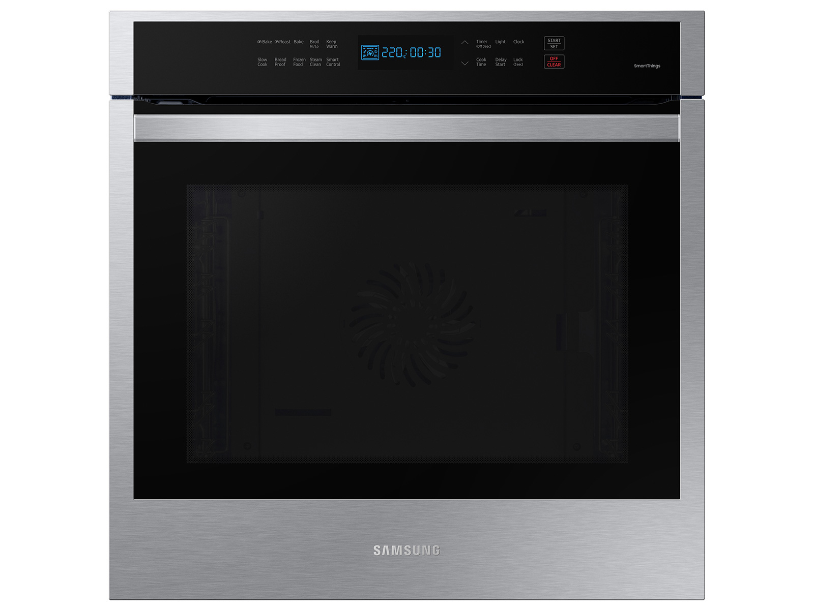 24 3 1 cu ft single electric wall oven with convection and wi fi in stainless steel
