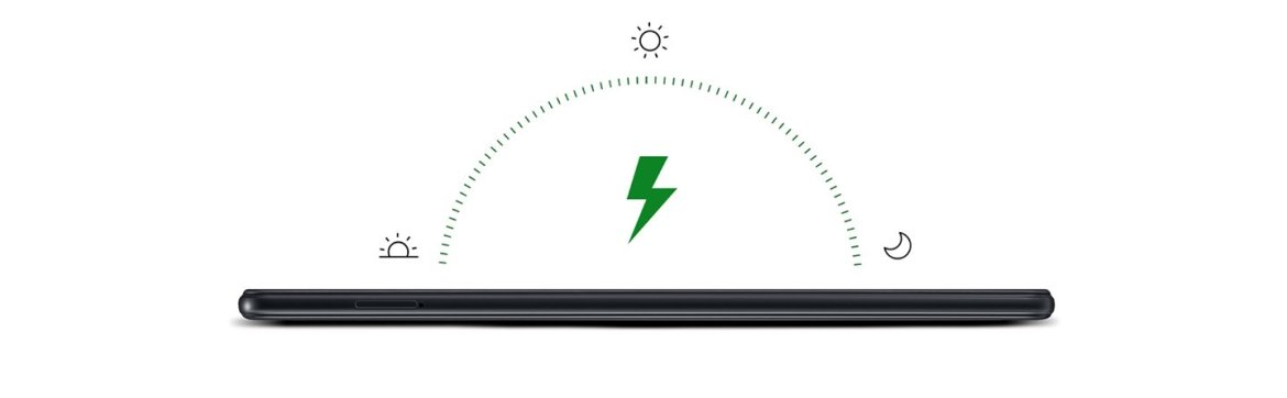 Battery life that stands out from the pack