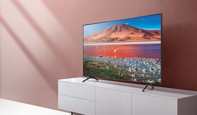 75TU8000 Samsung 4k Smart TV 4K makes a real world of difference