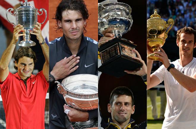 """Bảng xếp hạng tennis 8/1: Federer """"uy hiếp"""" Nadal, thê thảm Djokovic - Murray - 1"""