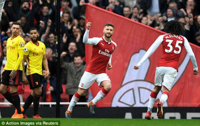 """Arsenal - Watford: Penalty hỏng ăn, """"pháo nổ"""" tưng bừng - 1"""