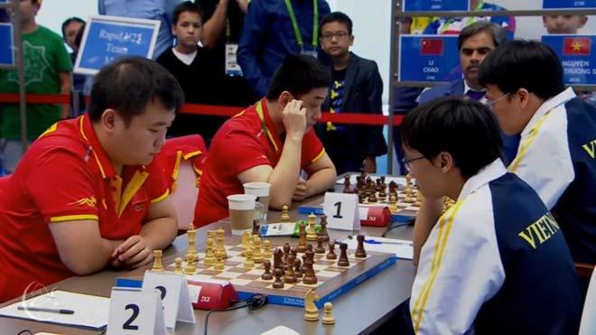 Vang dội: Quang Liêm - Trường Sơn đả bại cao thủ Trung Quốc, đoạt HCV châu Á - 1