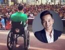 Hơn 1.000 khán giả xem MC Thành Trung ngồi xe lăn dẫn chương trình