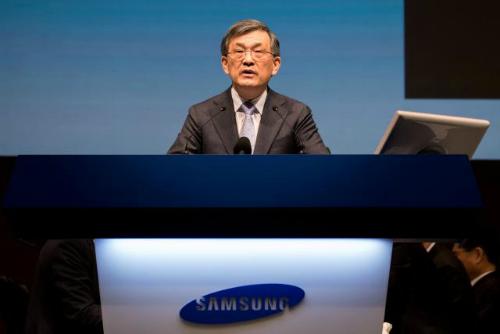 CEO Samsung sắp từ chức, dự báo lợi nhuận quý 3 - 1