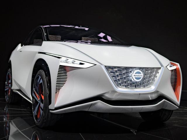 Nissan trình diễn crossover tự lái IMx Concept - 1