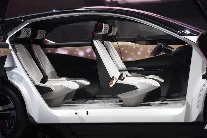 Nissan trình diễn crossover tự lái IMx Concept - 4