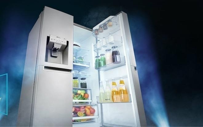 LG giới thiệu tủ lạnh mới có thêm luồng lạnh từ cánh cửa - 1