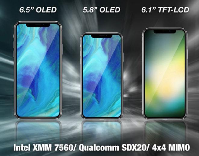 iPhone 2018 sẽ kết nối LTE nhanh hơn nhờ modem từ Intel và Qualcomm - 1