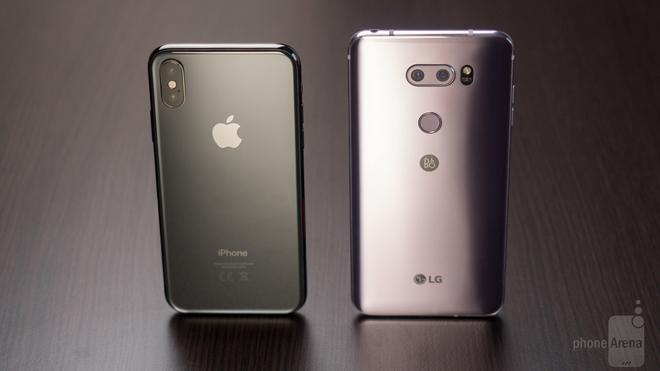 So sánh iPhone X và LG V30: So đôi đũa lệch - 10