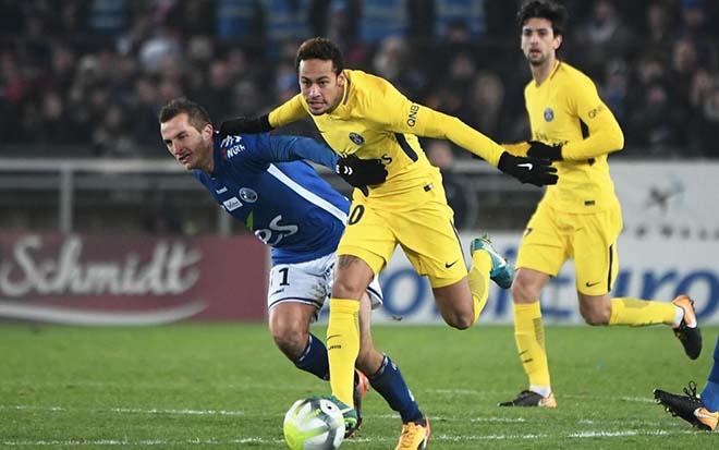 """Strasbourg - PSG: Neymar """"tàng hình"""", châu Âu đại địa chấn - 1"""