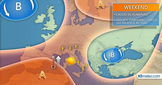 Meteo Italia: la situazione attesa nei prossimi giorni