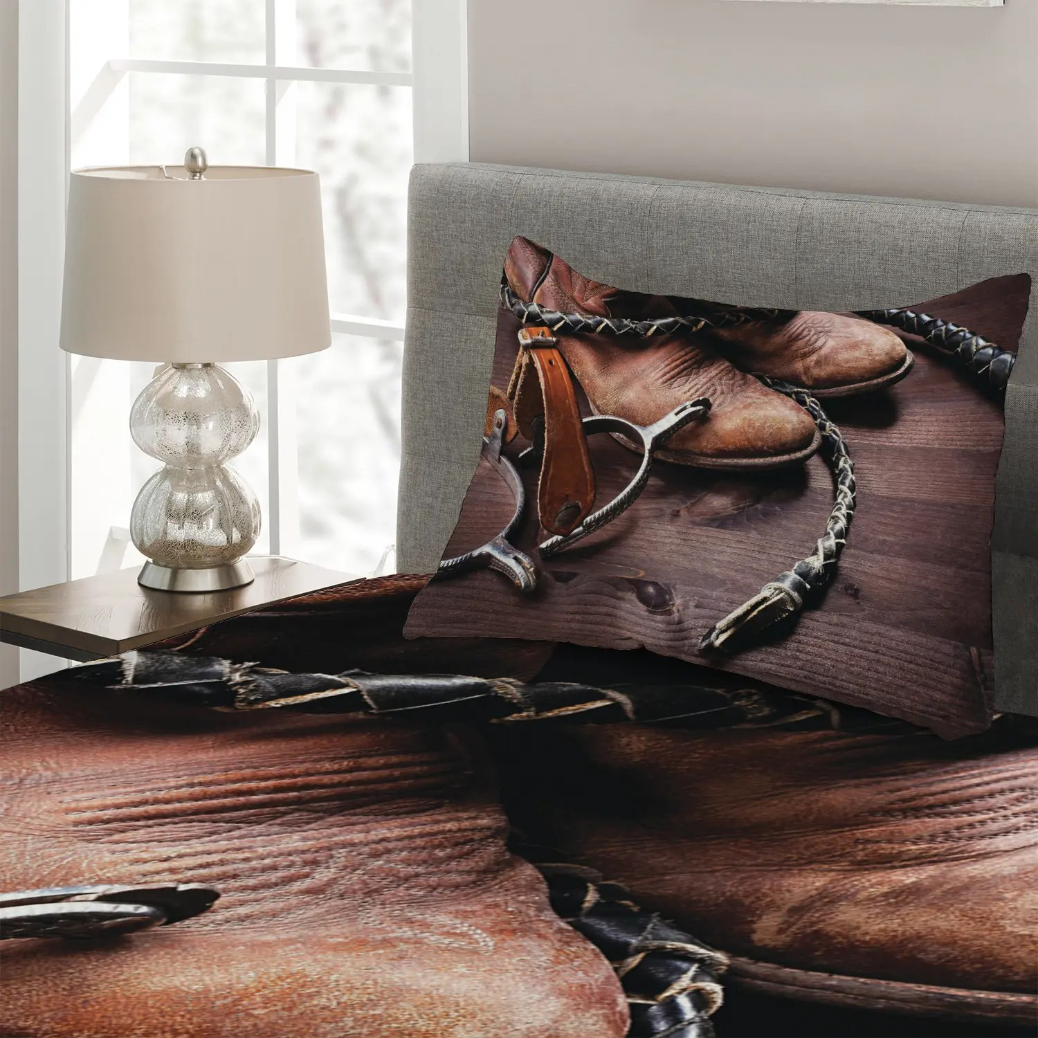 Western Quilted Coverlet Amp Pillow Shams Set Rustic Rodeo