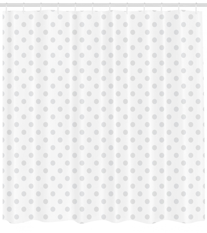 Grey Shower Curtain Ambesonne Bathroom Decor Set With