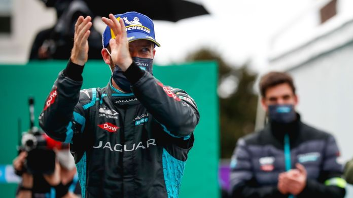 Sam Bird's second place in Rome pushed him to the top of the driver's championship after three rounds. (Pic: Formula E)