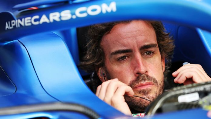 Fernando Alonso is back in F1 with Alpine after a two-year absence