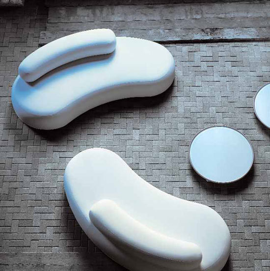 BUBBLE ROCK Armchairs From Living Divani Architonic