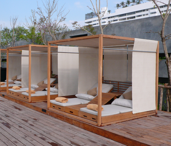 SUMMER CABANA BED Seating Islands From Deesawat Architonic