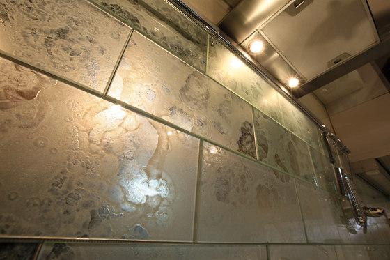 TILE BIANCO E NERO 1 Glass Tiles From Antique Mirror