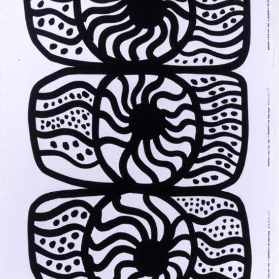 nooa black white interior fabric