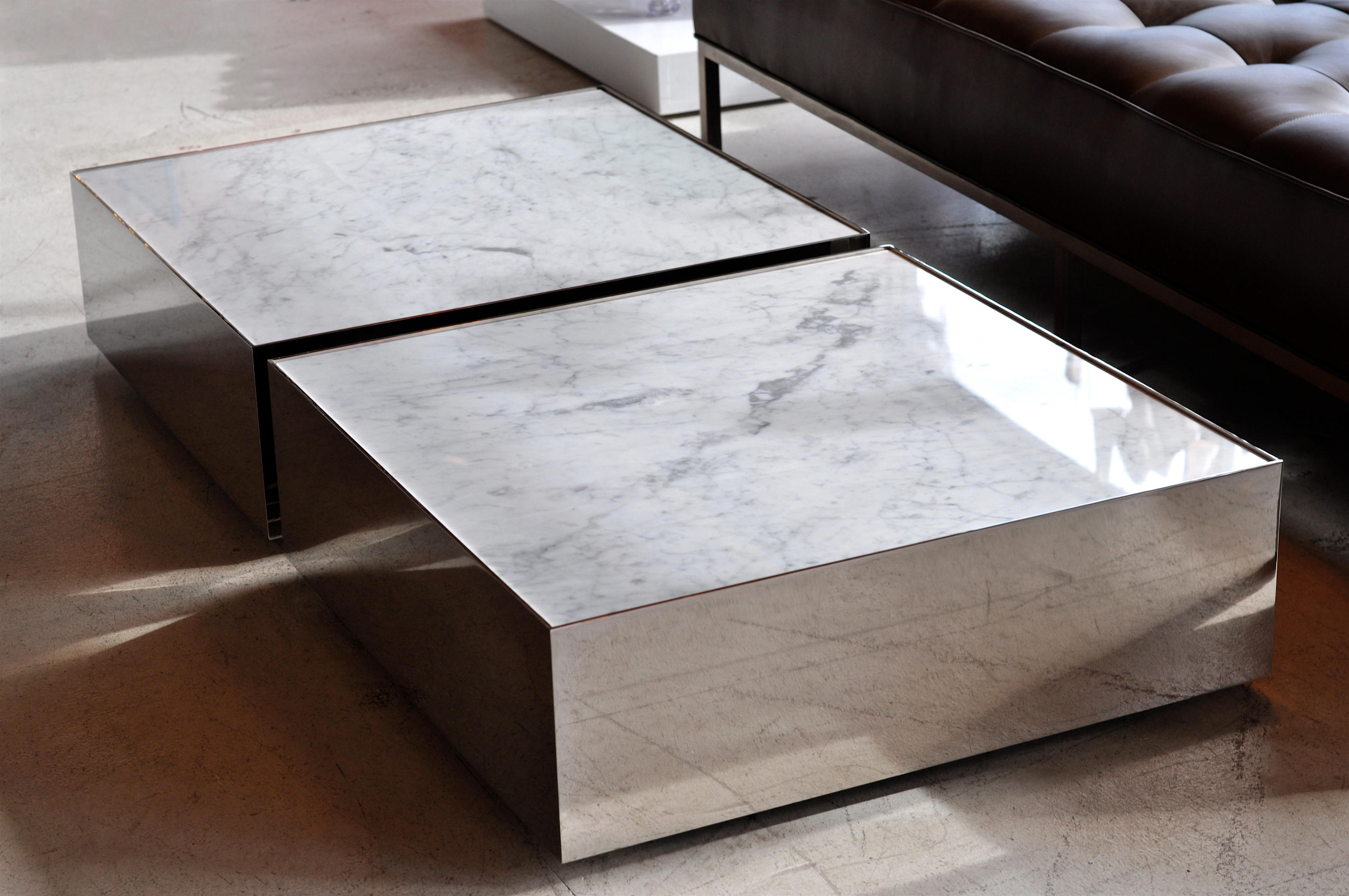 ballot marble coffee tables from