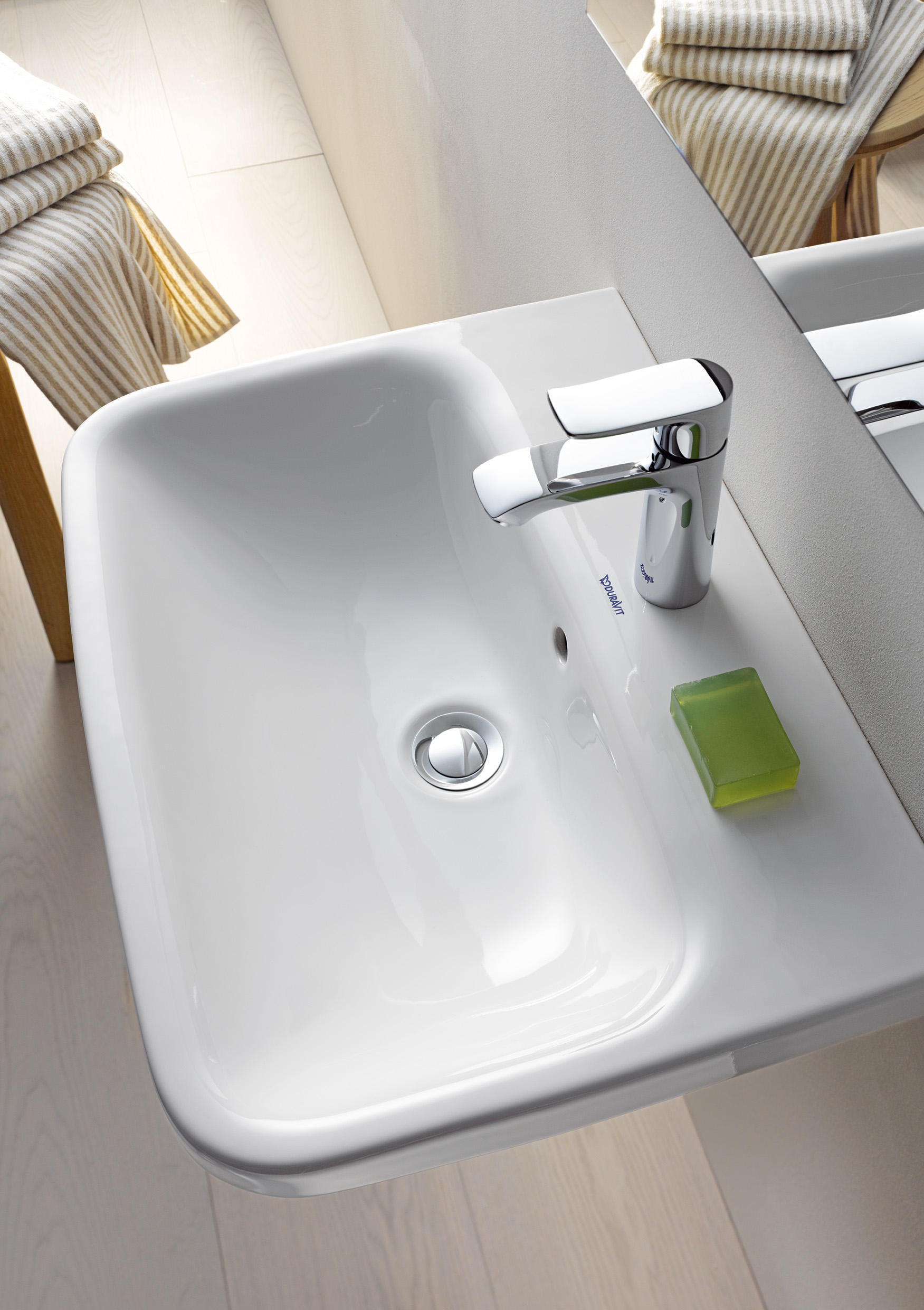 DURASTYLE ABOVE COUNTER BASIN Wash Basins From DURAVIT