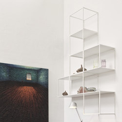 GRID WALL DECOR   Shelving from GRID System APS   Architonic GRID wall decor   Shelving   GRID System APS