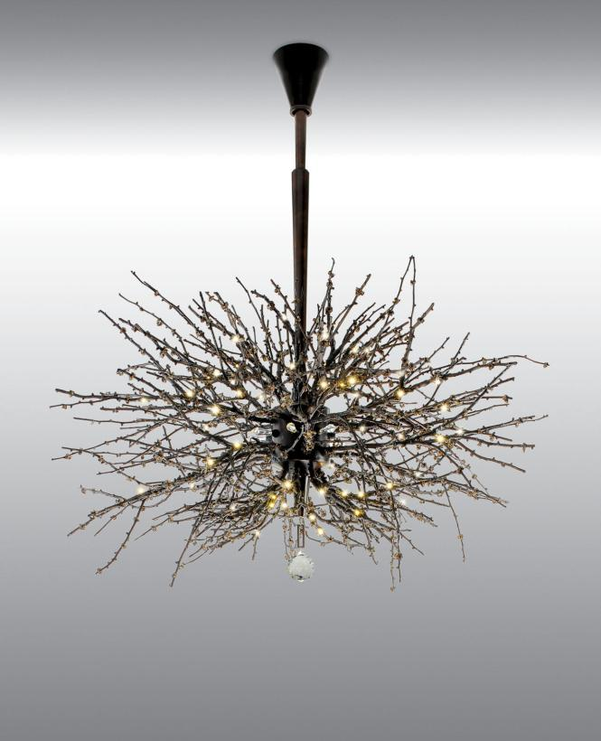 Twig Chandelier By Jonathan Browning Studios Ceiling Suspended Chandeliers