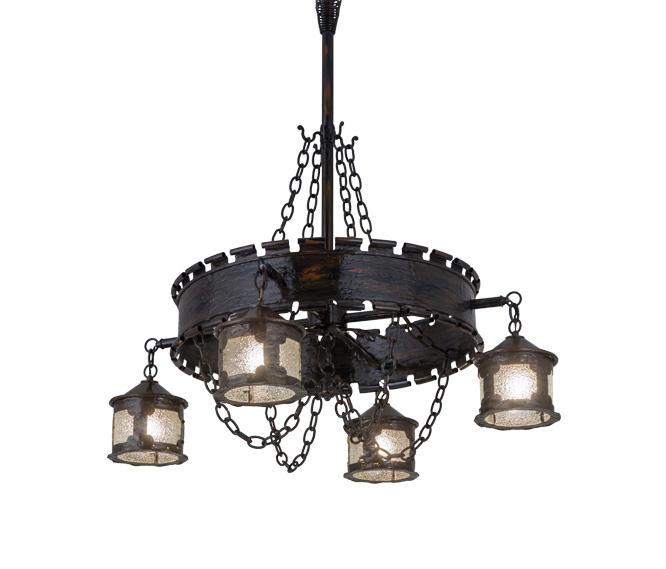 antique gothic reproduction 4 lantern