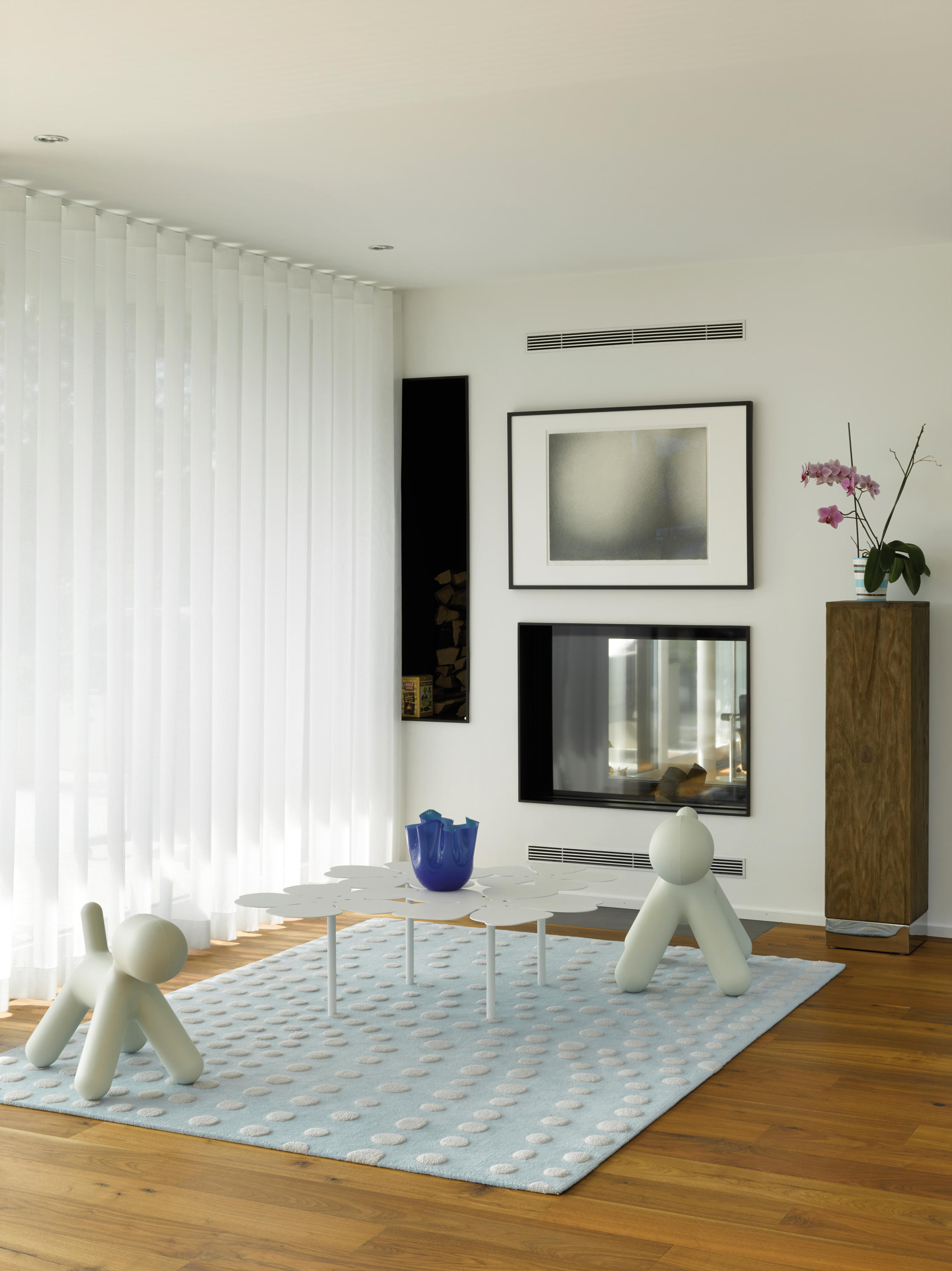 silent gliss hand operated curtain