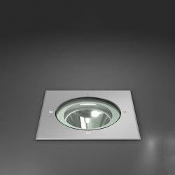 outdoor recessed floor lights