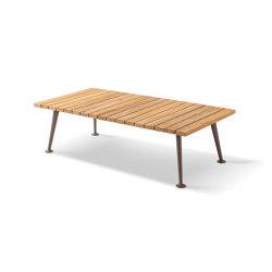 fenc e nature side table architonic