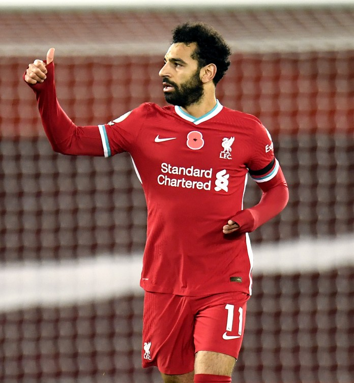 Mohamed Salah is due back in training after recovering from Covid-19