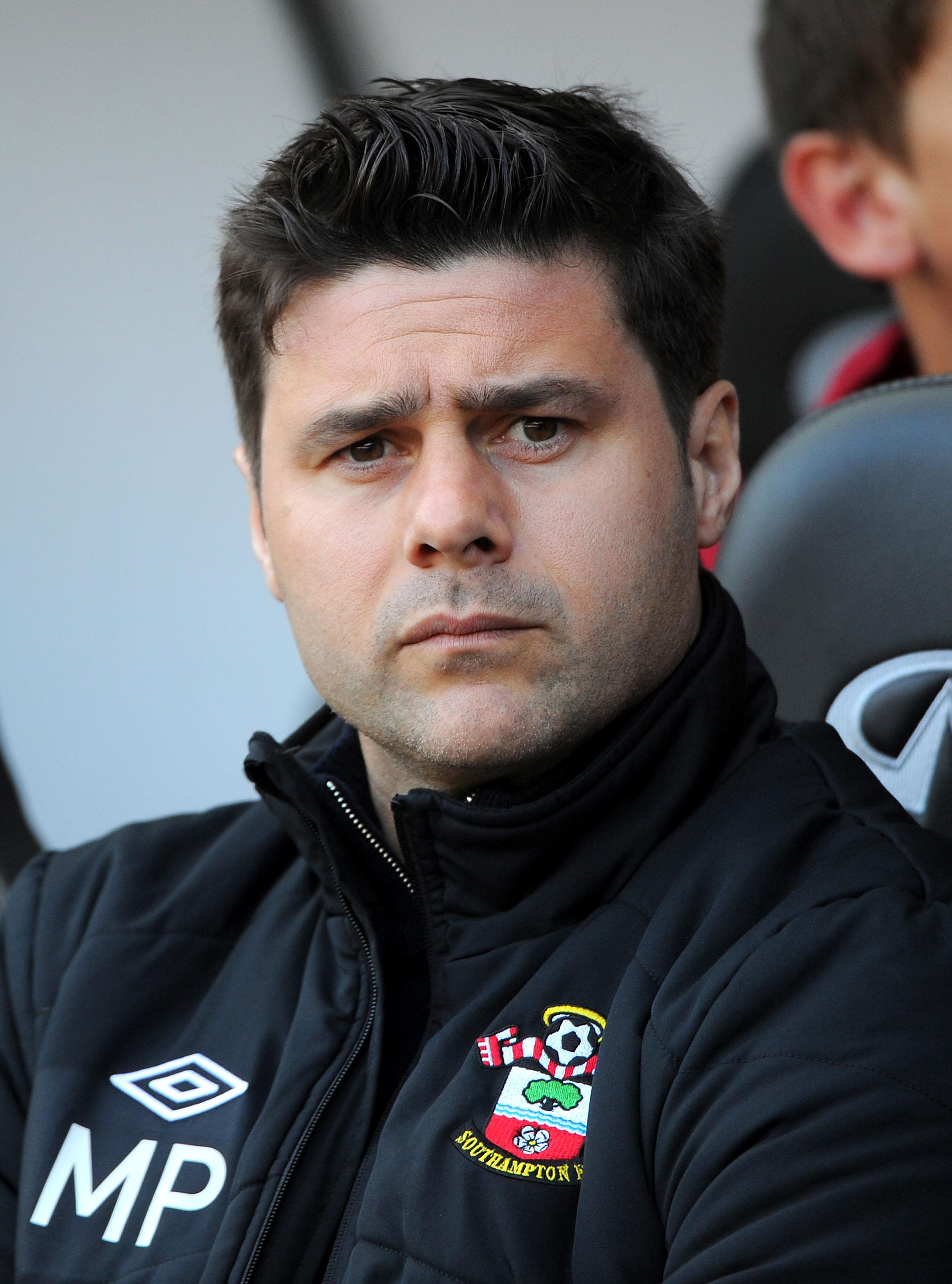 Mauricio Pochettino coach Adam Lallana at Southampton