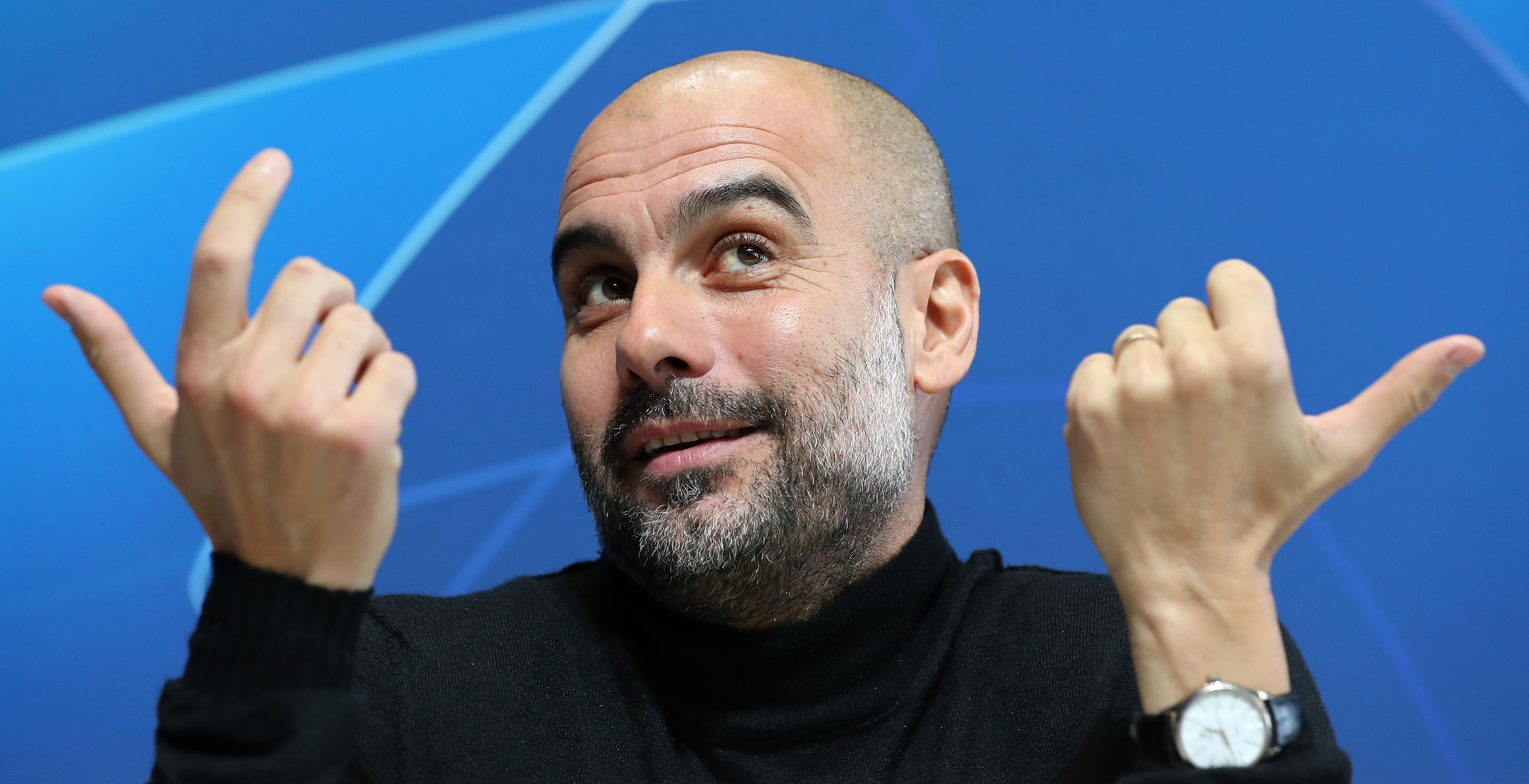 Manchester City manager Pep Guardiola has been praising Raheem Sterling