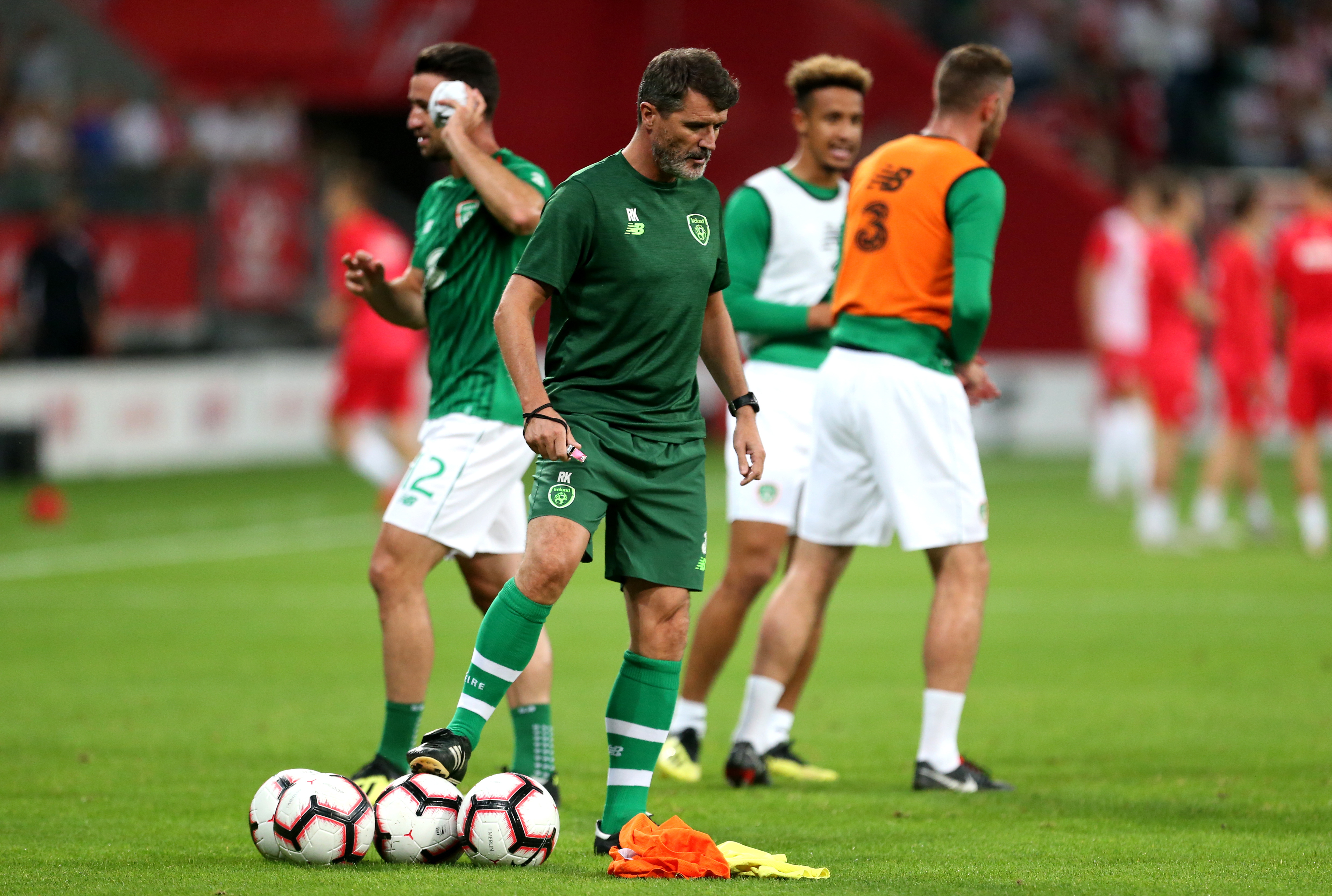 Roy Keane is Martin O'Neill's assistant in the Republic of Ireland set up